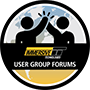 User group crest