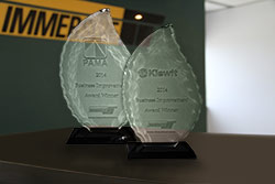 Kiewit and PAMA Business Improvement Awards