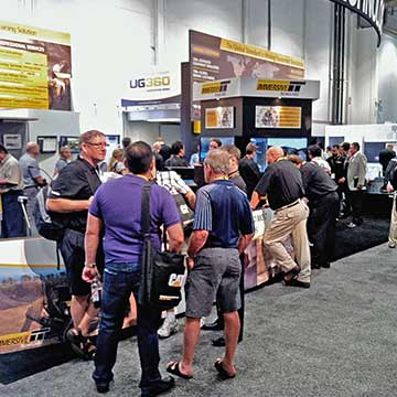 Immersive Technologies booth at MINExpo