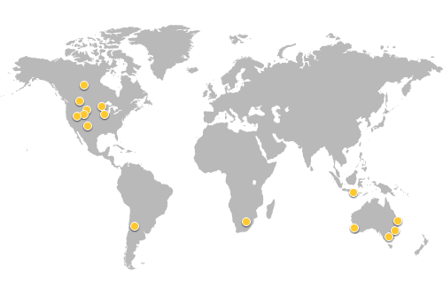 Previous user group forum locations