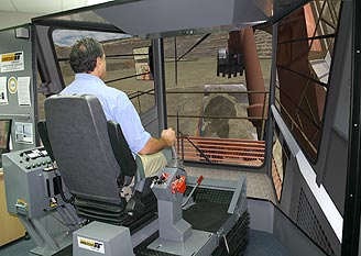 Hitachi EX5500 Shovel/Excavator Training Simulator