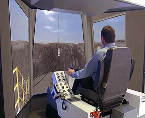 Dragline Training Simulator