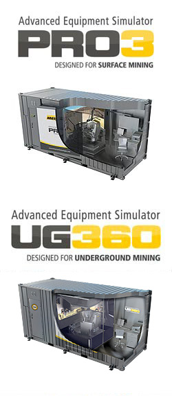 Immersive Technologies PRO3 and UG360 Advanced Equipment Simulators