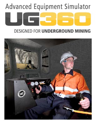 UG360 Underground Training Simulator - CAT R1700G Loader