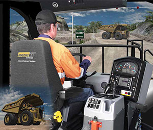 Conversion Kit® simulating the Caterpillar® 795F-AC 
