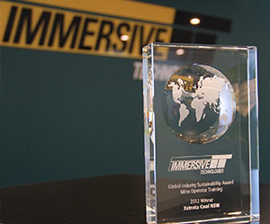 Immersive Technologies' Global Sustainability Award