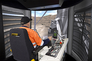 The partnership between Liebherr and Immersive Technologies yields a level of accuracy which ensures that simulation users can achieve measureable results in the pit, and trains equipment operators to the highest standard of safety.