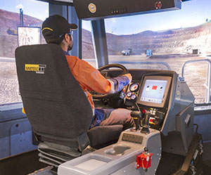 Operator training using Immersive Technologies' Advanced Equipment Simulators reduced haul truck fuel consumption by 6.9% in five months.