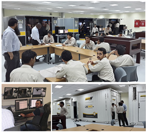 Students at Saudi Mining Polytechnic are able to train on underground and surface equipment through the use of Immersive Technologies' simulators. Courses in the training center allow for students to observe classmates and review their own simulation sessions while instructors can manage and run reports through a centralized control station.
