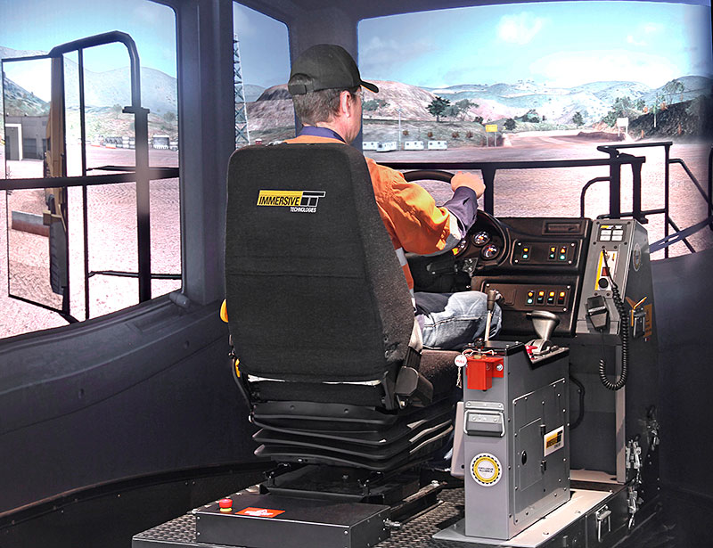 Targeted Simulator Based Training for 400 Haul Truck Operators at Anglo Americans Los Bronces mine