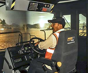 Thriveni Earthmovers has invested in simulators from Immersive Technologies