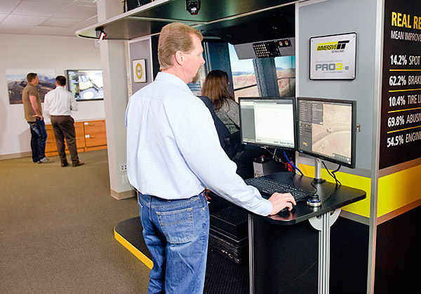 Immersive Technologies is the world's most trusted provider of workforce development solutions for mine training.