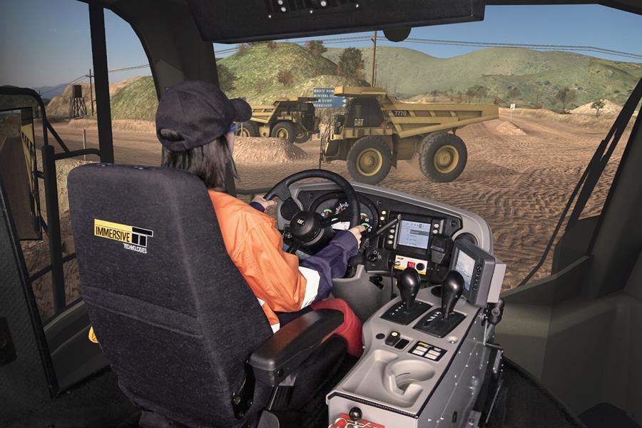 Endeavour Mining's West African Mine, Houndé Gold, Seeing Significant Operator Improvements with Simulator Training from Immersive Technologies