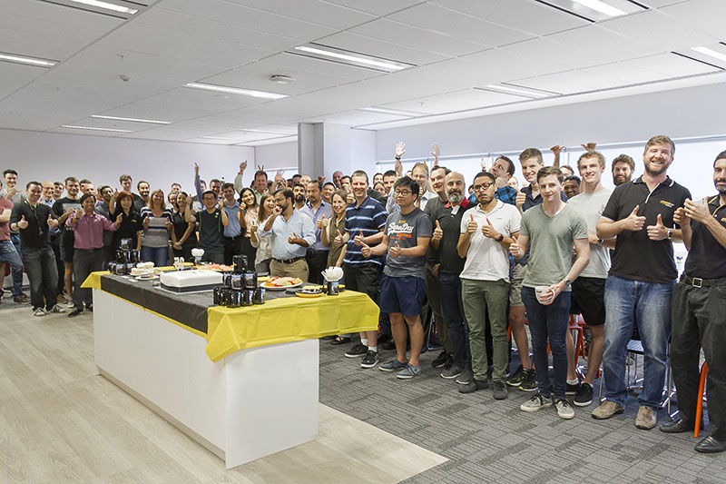 Perth, Australia Office celebration photo