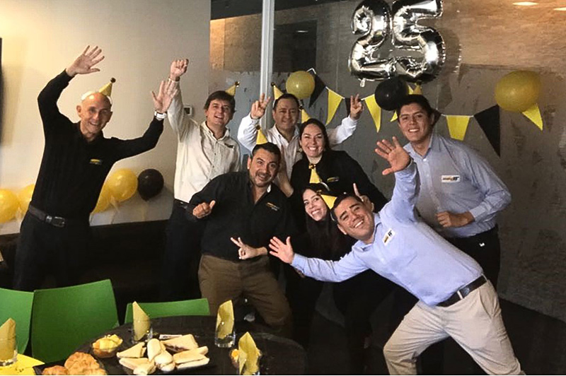 Santiago, Chile Office celebration photo
