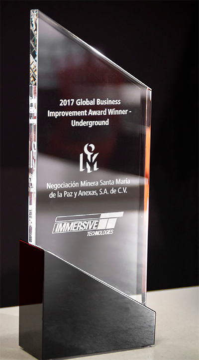 Immersive Technologies - Annual Business Improvement Award