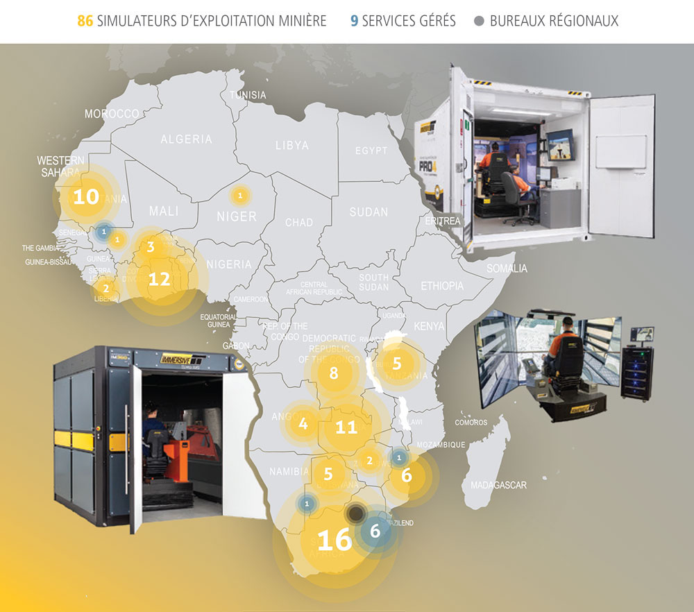 Immersive Technologies - Implantation africaine