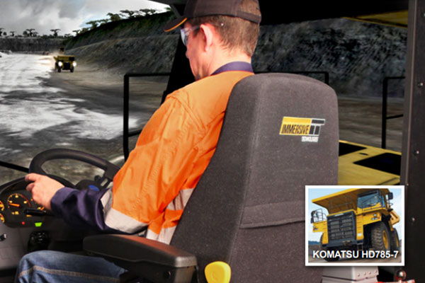 Immersive Technologies - Komatsu HD785-7 Training Simulator