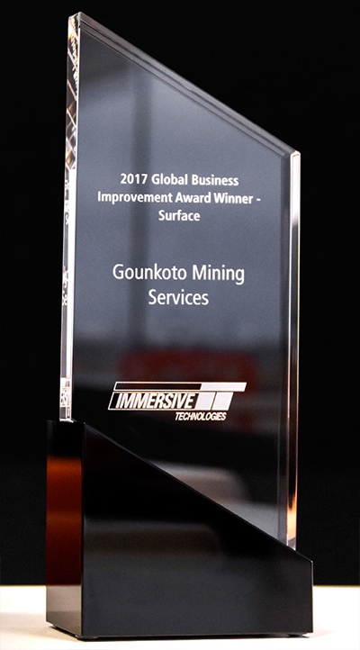 Award Winner - Surface - Gounkoto Mining Services