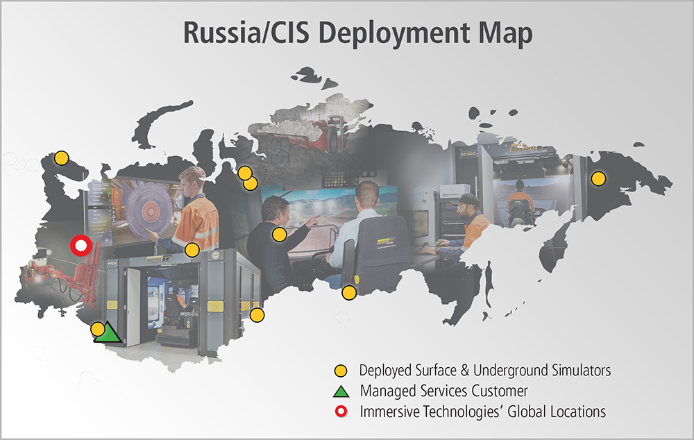 Russia/CIS Deployment Map