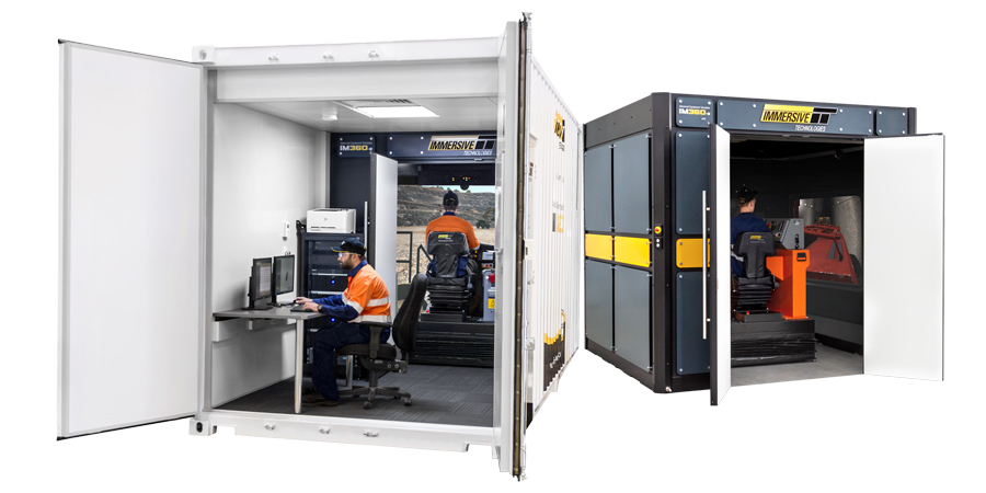 IM360 Advanced Equipment Simulator - available in classroom and transportable configurations