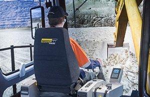 Simulator for Komatsu PC1250-8 Excavator