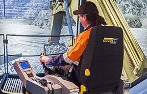 Komatsu PC2000-8 Hydraulic Excavator Training Simulator