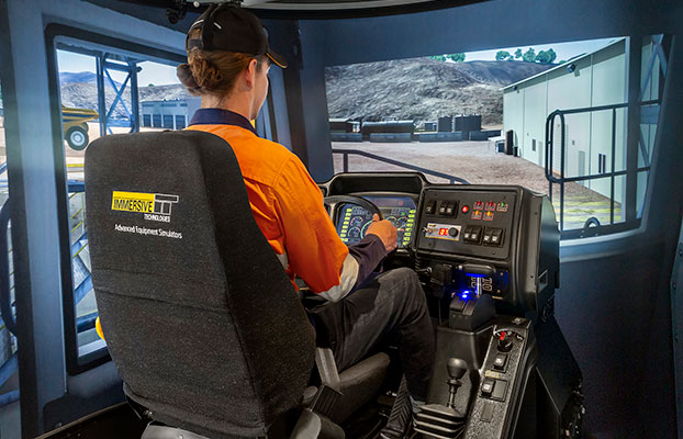 Simulator for Belaz Haul Truck 75131