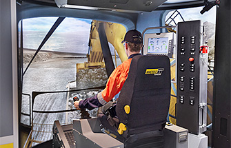 Simulator for Cat® 6040 Shovel, 6060 Shovel/Excavator