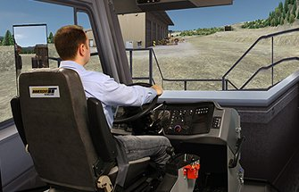 Simulator for Cat® 769D, 773D, 777D Haul Trucks