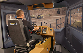 Simulator for Cat® 785B, 789B, 793B VIMS Haul Trucks