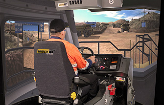 Simulator for Caterpillar Haul Truck 785C ,789C, 793C, 797