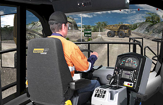 Simulator for Caterpillar Haul Truck 793F