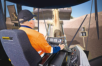 Simulator for Cat® 992G Wheel Loader