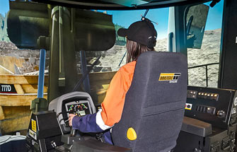Simulator for Cat® 992K / 994H Wheel Loader