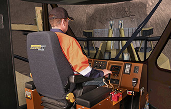 Simulator for Cat® 994D Wheel Loader