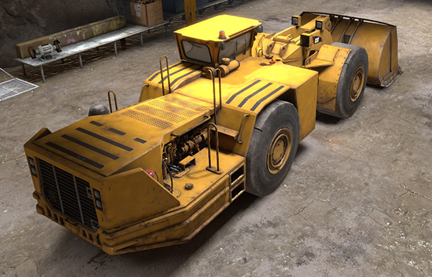 Simulator for Cat® R1700K Underground Loaders