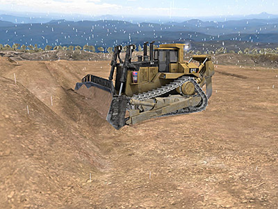 Cat D11T Adverse Weather Training