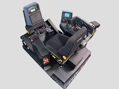 Training Simulator Module for Cat D11T Track Dozers (Overhead view)