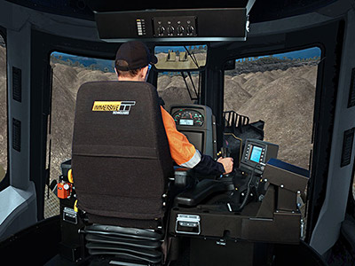 Training Simulator Module for Cat D11T Track Dozers on PRO3
