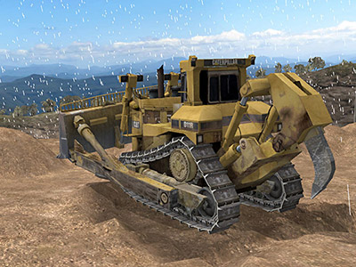Cat D11R Adverse Weather Training