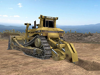 Cat D11R Ripping Training