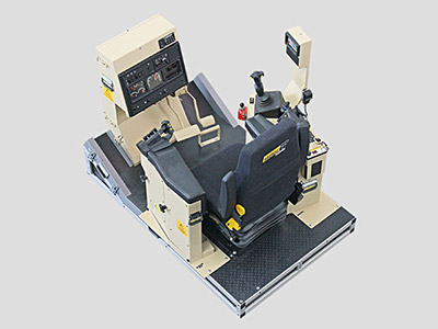 Training Simulator Module for Cat D11R Track Dozers (Overhead view)