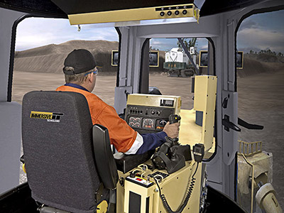 Training Simulator Module for Cat D11R Track Dozers on PRO3