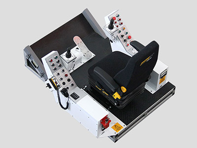 Dragline Training Simulator Module (Overhead view)