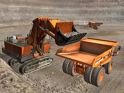 Immersive Technologies - Hitachi EX5600-6 Shovel/Excavator