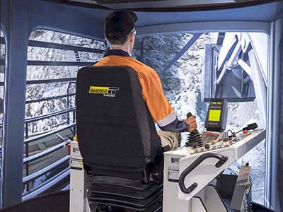 Liebherr R9400 Shovel/Excavator Training Simulator Module on PRO3
