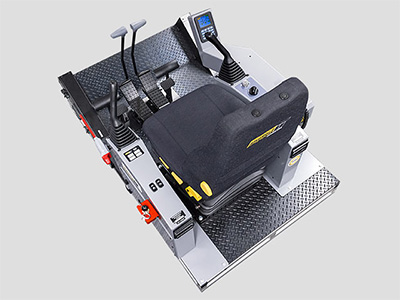 Komatsu PC1250-8 Excavator Training Simulator Module (Overhead view)