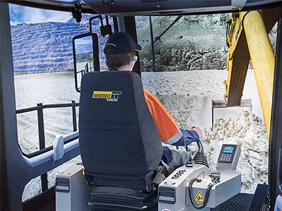 Komatsu PC1250-8 Excavator Training Simulator Module on PRO3
