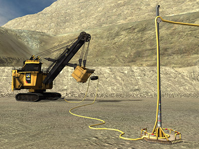 Cat 7495 Cable Move Training